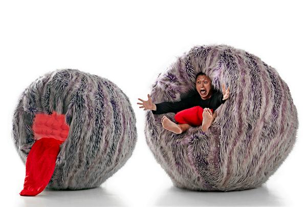 Чудовищное кресло Moyee Monster Chair из детских страхов Джейсона Го (Jason Goh)