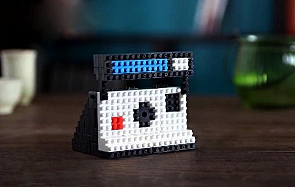Nanoblock Toy Camera: мини-фотоаппарат из японского конструктора
