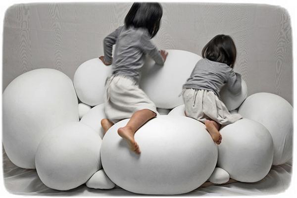 *Воздушный* диван O'keeffe от Kei Harada