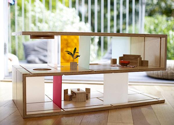 И мебель, и игрушка. Журнальный столик Qubis HAUS от Amy Whitworth