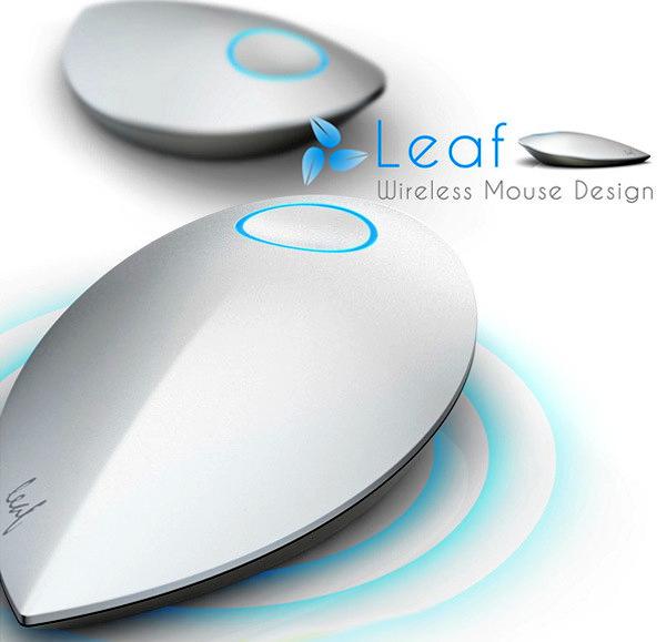 Экологичная мышка Leaf wireless mouse