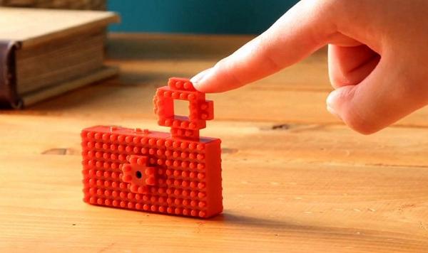 Nanoblock Camera с настраиваемым дизайном корпуса