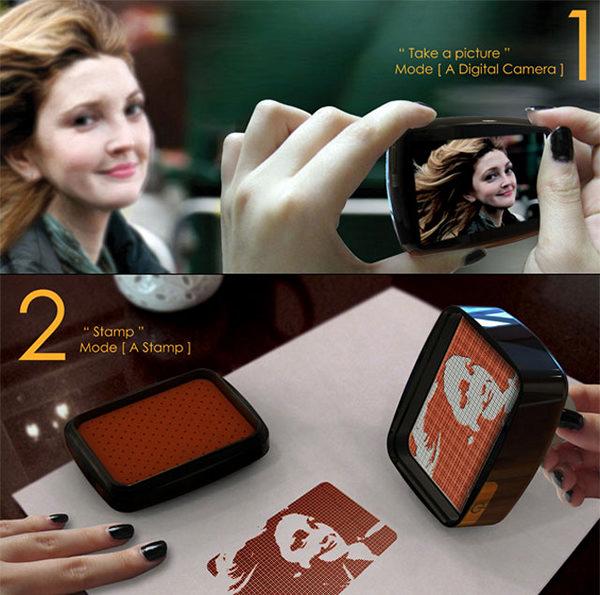 Концепт-камера Stamp.y от Jinhee Kim