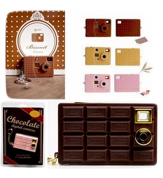 Веселые Biscuit Cameras и Chocolate Cameras от FUUVI