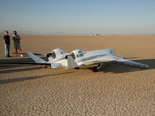 X-48C – сверхэффективный самолет от NASA