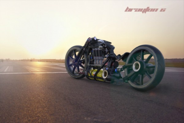 Brayton6 – мотоцикл с пульсирующим двигателем