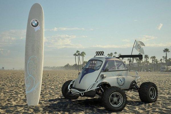 BMW Joy Concept: лучший друг экстримала