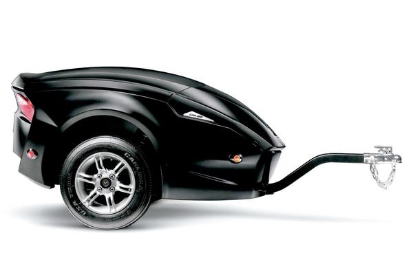 Прицеп Spyder RT позволит взять все необходимое для путешествия