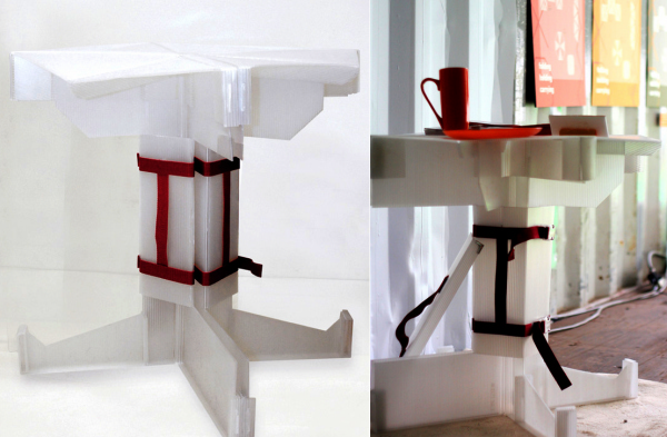 Carry Home Project: проект переносного интерьера квартиры