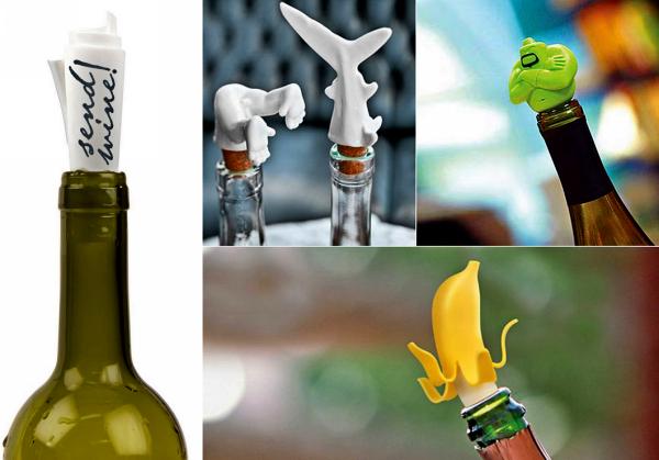 Обзор самых необычных пробок для бутылок