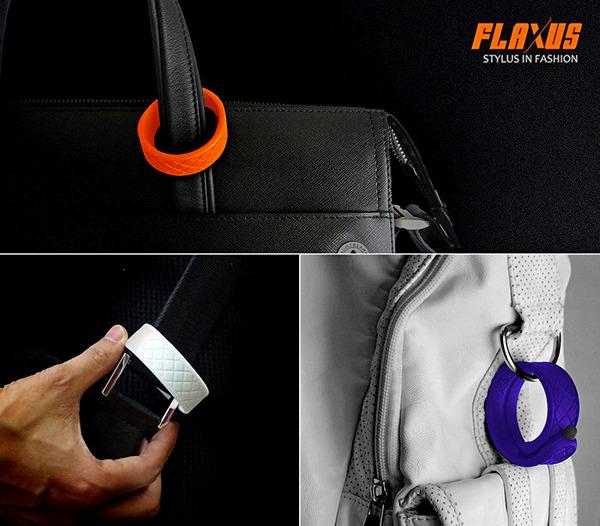 Flaxus. Стильный стилус в виде яркого браслета