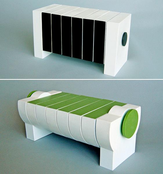 Interactive Segmented Tables. Инновационная мебель от Michael Jantzen
