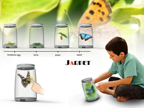 Jarpet: виртуальный питомец в банке