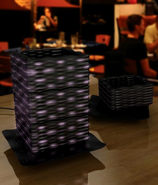 Masuzake. Светящиеся чашки для саке