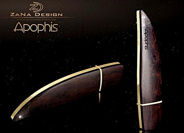 Флешка Apophis с кусочком метеорита