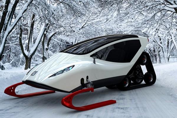 Cнегоход Snowmobile дизайнера Michal Bonikowski
