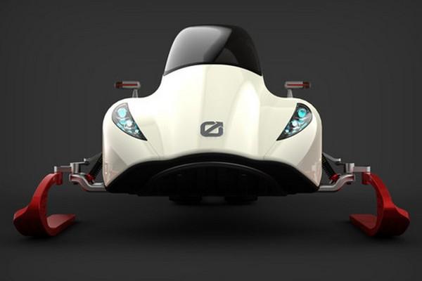 Snowmobile от Michal Bonikowski обладает незаурядной внешностью