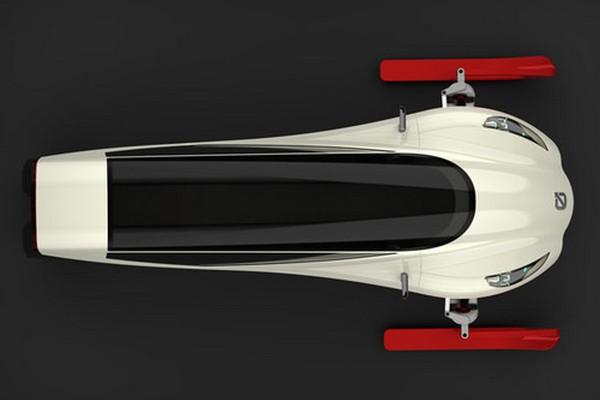 Snowmobile дизайнера Михала Бониковски