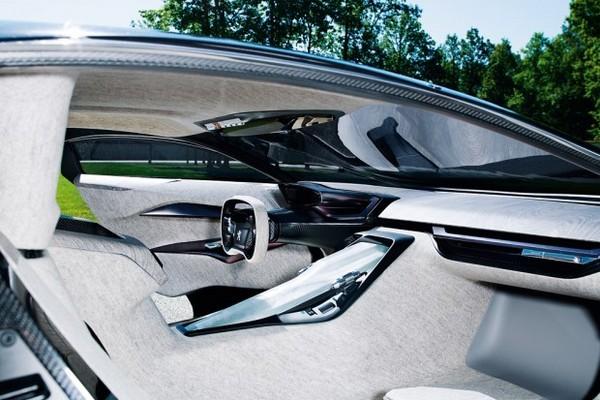 Войлочный интерьер Peugeot Onyx