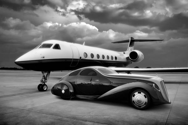 Rolls Royce Jonckheere Aerodynamic Coupe II: возвращение легенды