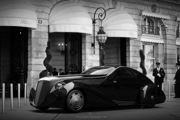 Rolls Royce умеют произвести впечатление