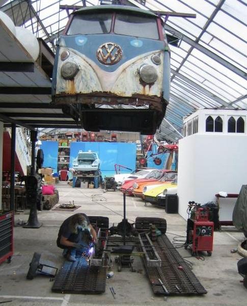 VW Snowcat Adventuremobile