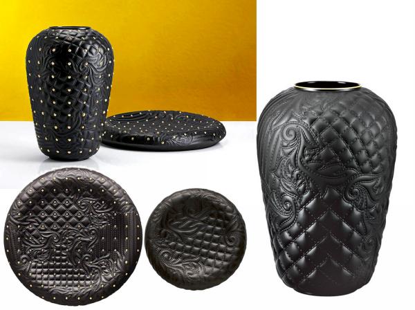 Vanitas: посуда из фарфора, имитирующего кожу