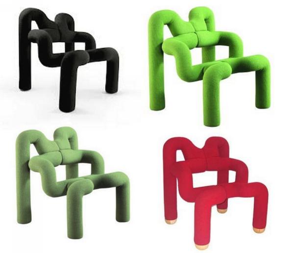 Ekstrem chair: авторское кресло Терье Экстрема