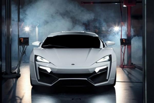 Lykan Hypersport: Гость из будущего
