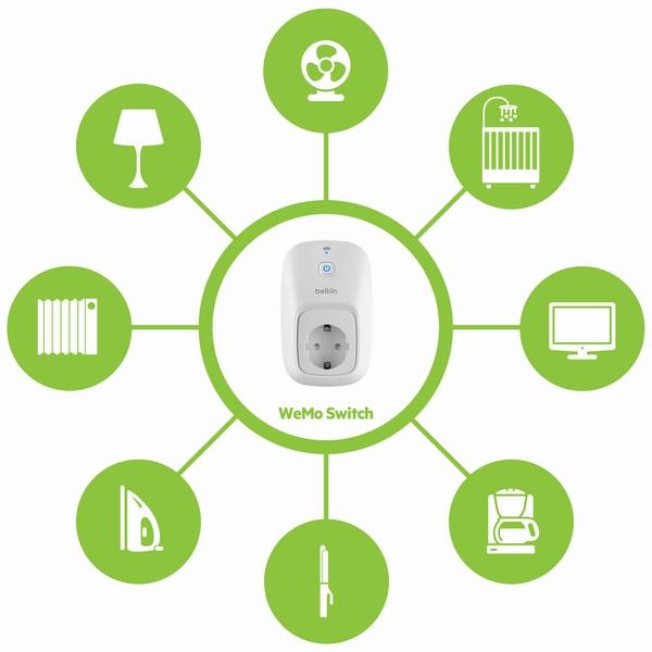 WeMo осуществляет контроль всех домашних устройств