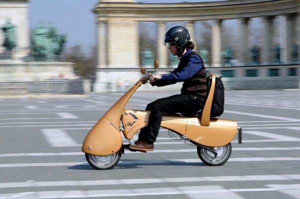 Moveo – скутер на тележке