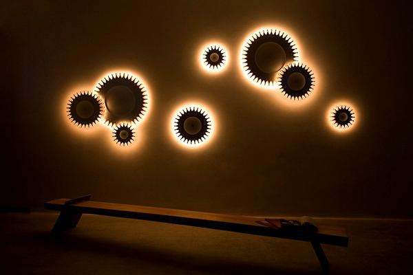 Schproket lighting system: инновационные светильники Кристофера Молдера