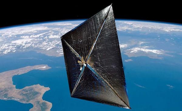 Солнечный парус от NASA в 2014 году
