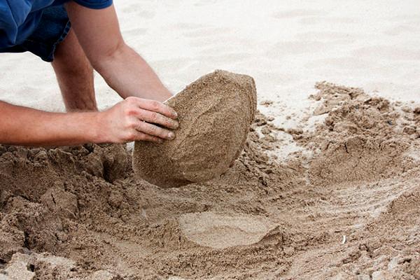 Посуда из песка. Проект Areniscos от Victor Castanera