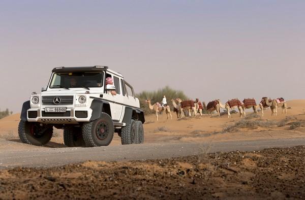 Mercedes-Benz G63 AMG 6x6 – шестиколесный внедорожник