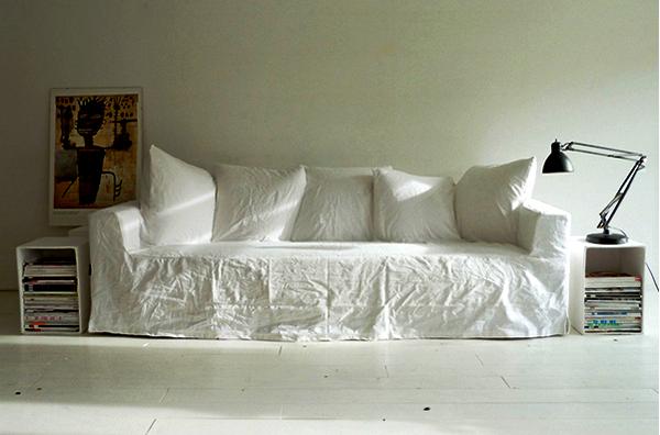 My couch - my canvas. Диван для рисования от Аннебет Филипс