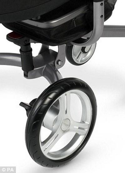 У колясок Aston Martin установлена пневмоподвеска