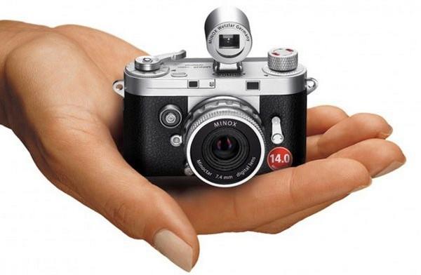 Minox DCC – миниатюрная камера, которая поместится в ладони