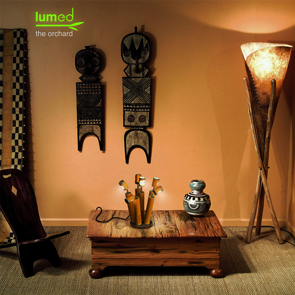 *Фруктовый* светильник Orchard lamp из бамбуковой рощи