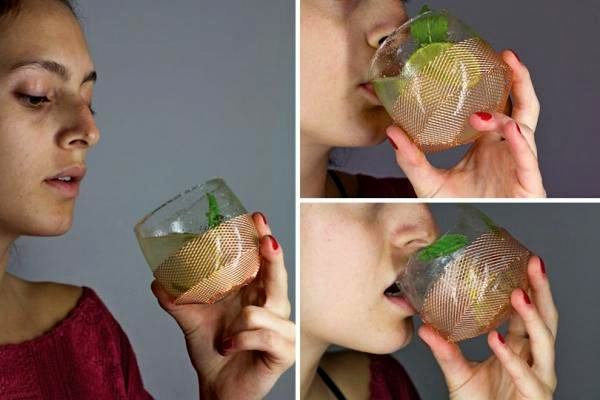 Sugar glass: сахарные бокалы для сладкоежек