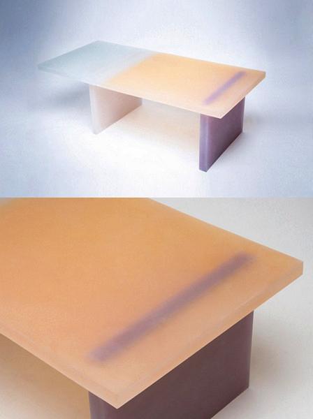 Haze: полупрозрачная каучуковая мебель от Wonmin Park