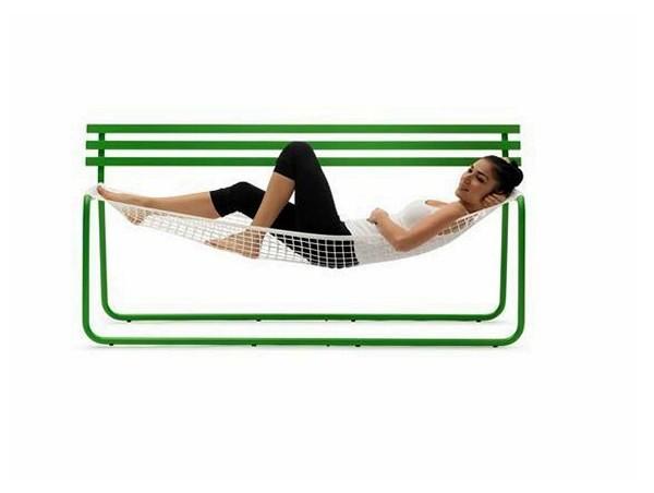 Siesta bench. Скамейка-гамак для удобного отдыха