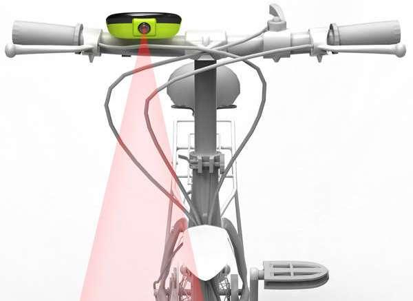 Лазерный GPS-навигатор для велосипедов