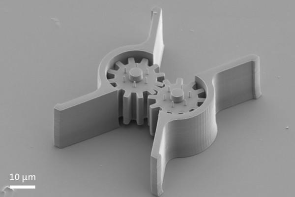 Революционный трехмерный нанопринтер от Nanoscribe