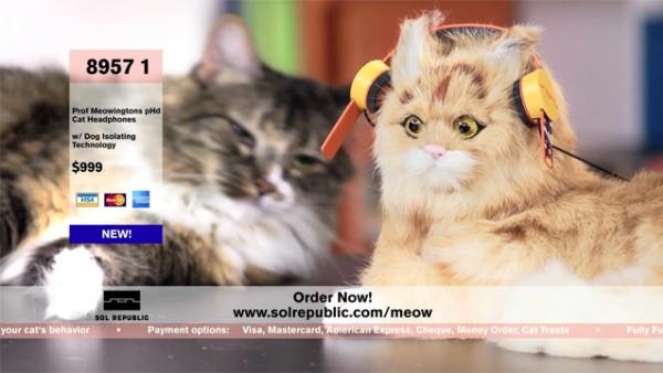 Наушники для котов за 1000 долларов