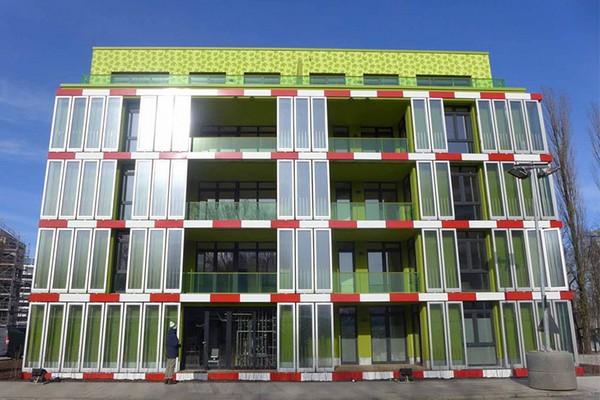 BIQ house – первое в мире здание с энергией от водорослей