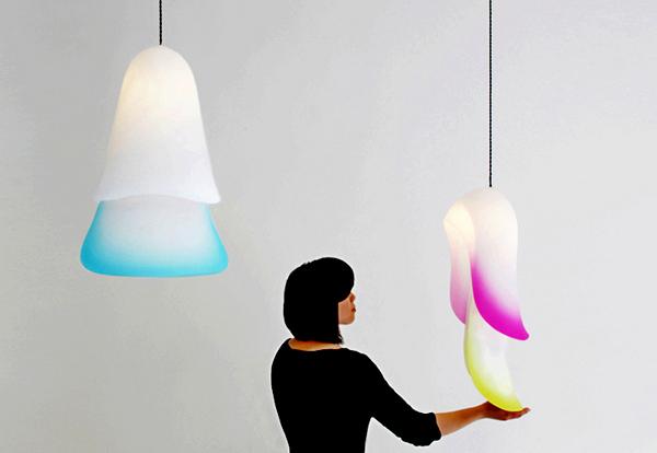 Дизайнерские светильники Cape lamp от Constance Guisset