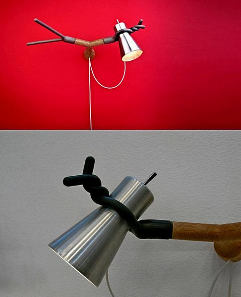 Fixie Lamp Series: гибкие светильники от студии DAG