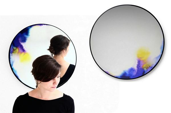 Francis Mirrors: оригинальные зеркала для Petite Friture от Constance Guisset