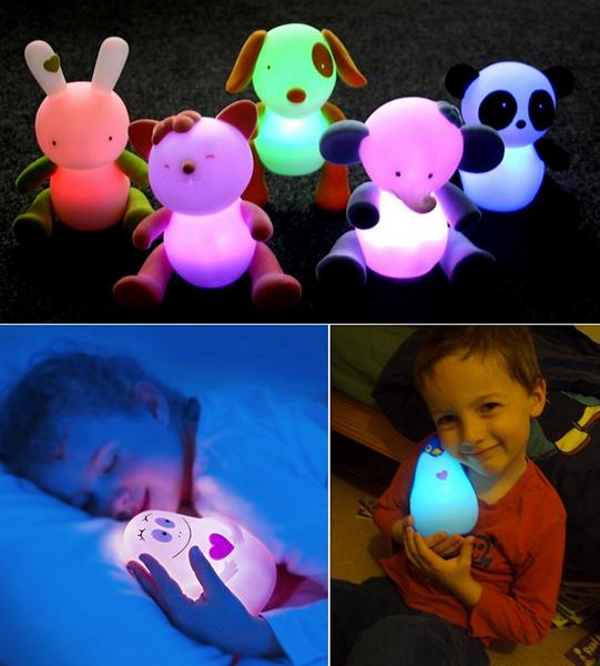 Светящиеся игрушки-фонарики для малышей